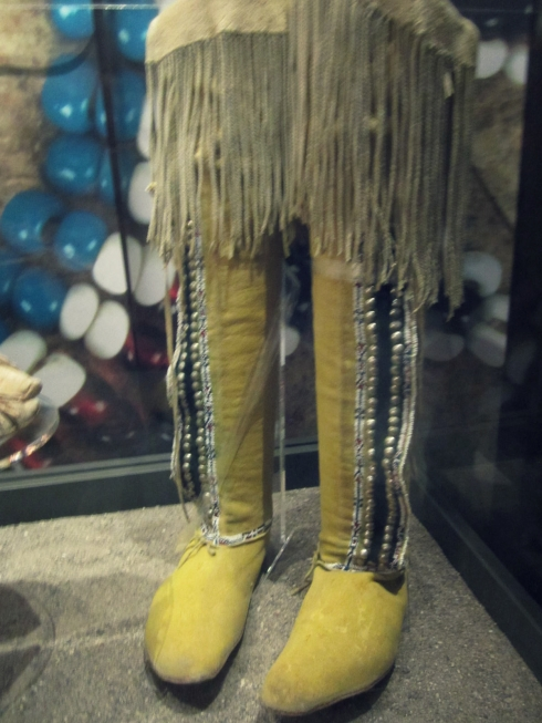 native american high-boots bata shoe museum